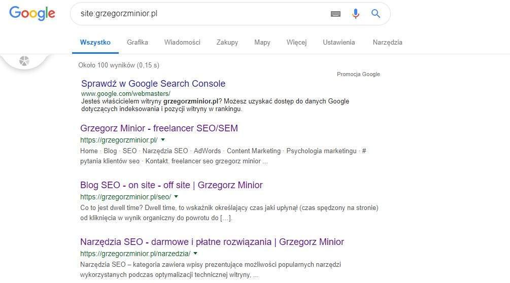 site grzegorzminior pl