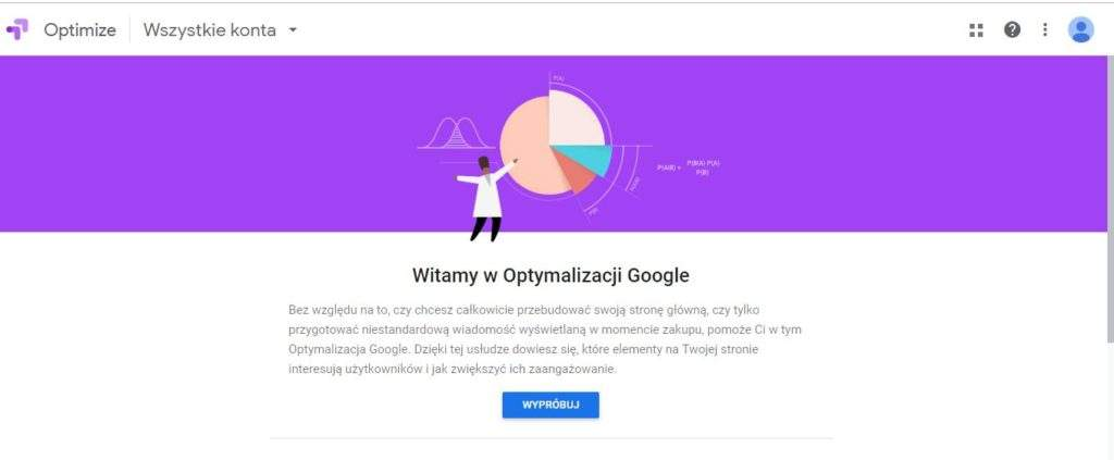 Google Optimize - Grzegorz Minior